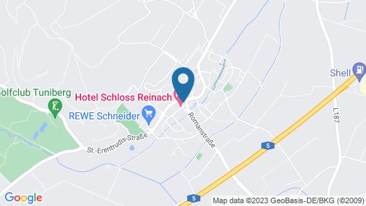 Hotel Schloss Reinach Map