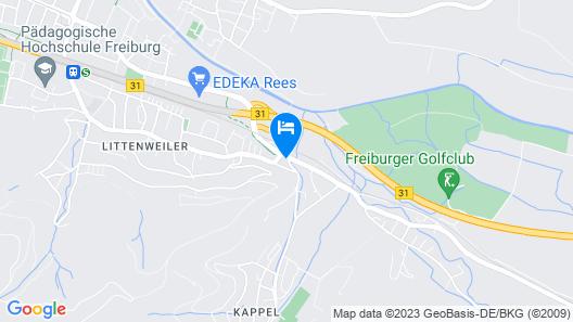Invite Hotel Löwen Freiburg Map