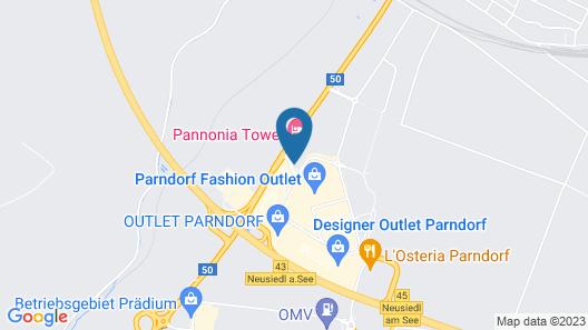 Pannonia Tower Parndorf GmbH Map
