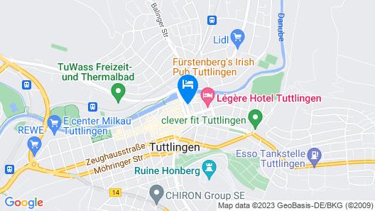 LÉGÈRE EXPRESS Tuttlingen Map