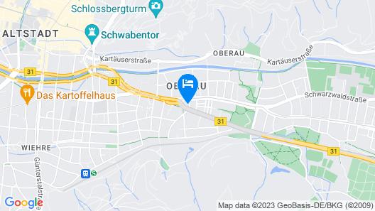 Hotel Gasthaus Schützen Map
