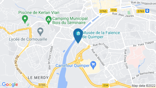 Hôtel Ginkgo Map