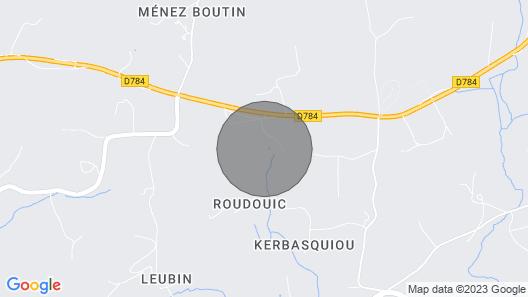Gite Rural a la Ferme Route Pointe du raz Map
