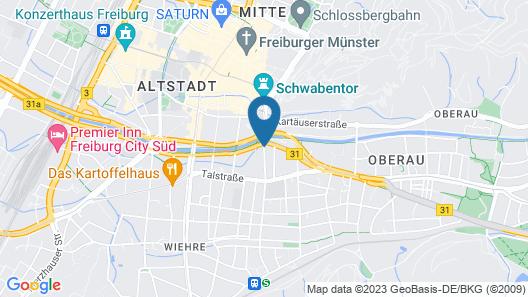 Hotel Schiller Map