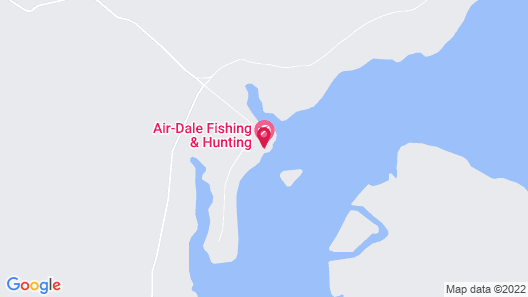 Air-Dale Fishing and Hunting Map