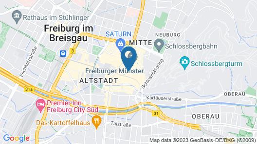 Hotel Oberkirch am Münsterplatz  Map
