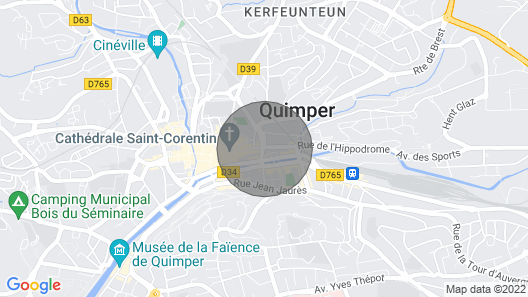 House at Quimper Map