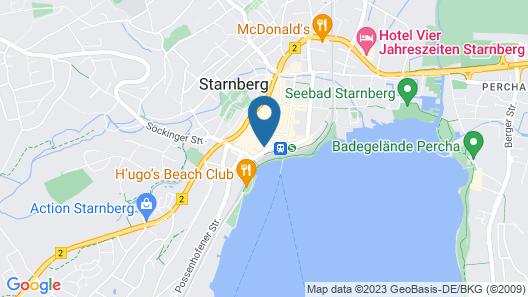 Hotel Bayerischer Hof Starnberg Map