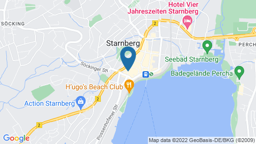 Hotel Fischerhaus Map