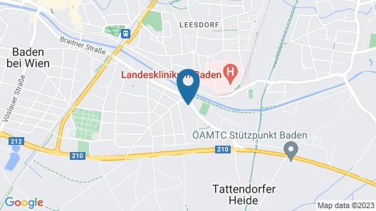Motel Baden Map