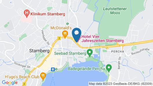 Hotel Vier Jahreszeiten Starnberg Map