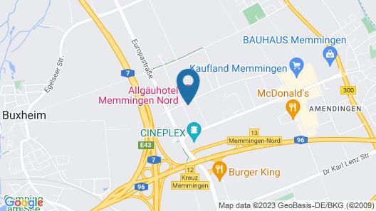 Allgäuhotel-Memmingen-Nord Map