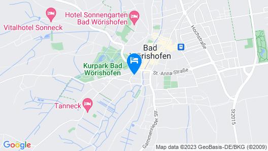 Hotel Brandl Map