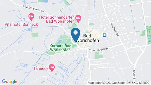 Kneipp- Kur- und Tagungshotel Luitpold Map