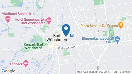 Das Parkhotel Map