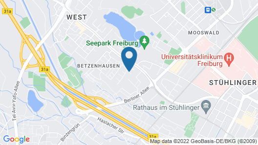 Hotel Bischofslinde Map