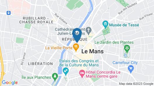 Appartement Relais Saint Pavin Map