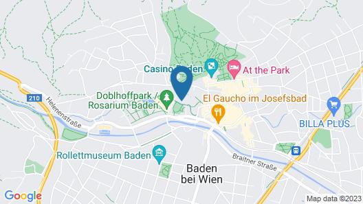Das Gutenbrunn Thermen & Sporthotel Map