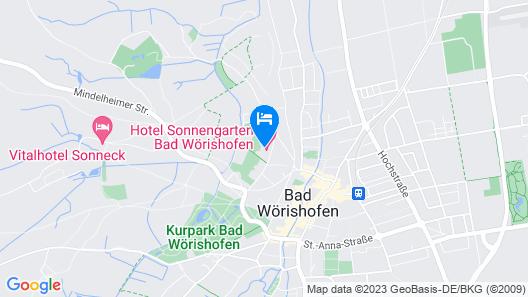 Hotel Sonnengarten Map