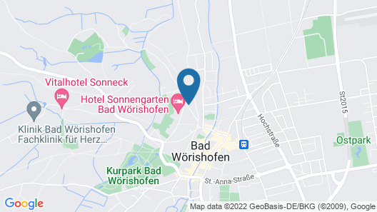 Hotel & SPA Fontenay Map