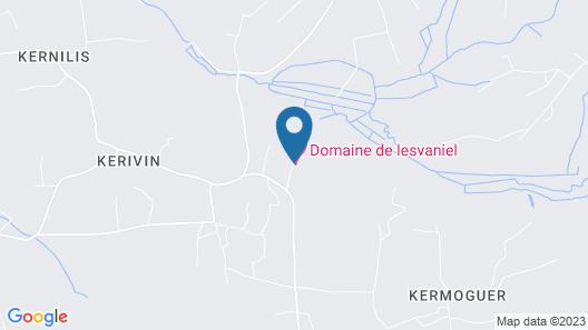 Gîtes de Lesvaniel Map