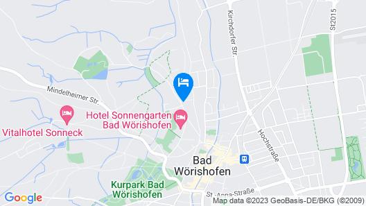 PTI Hotel Eichwald Map
