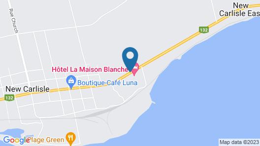 Hotel La Maison Blanche Map