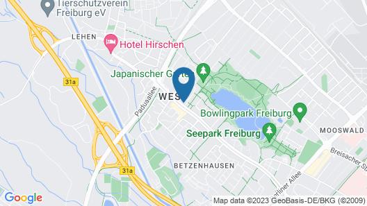 Ferienwohnungen Seepark Freiburg Map