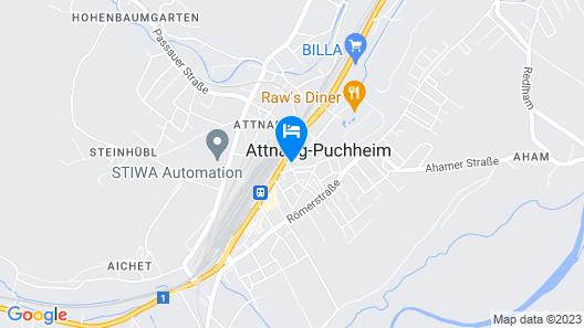 Höckner Plazahotel Map