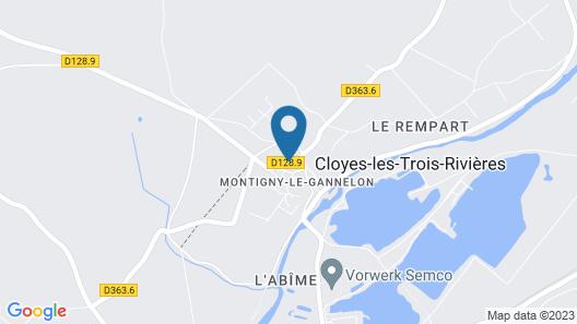 Le Relais de Montigny Map