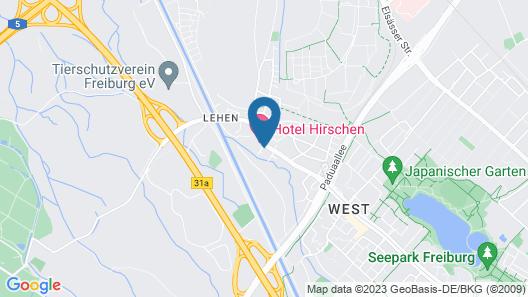 Hotel Restaurant Bierhaeusle Map