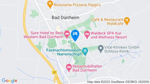 Parkhotel Waldeck Schrenk Map