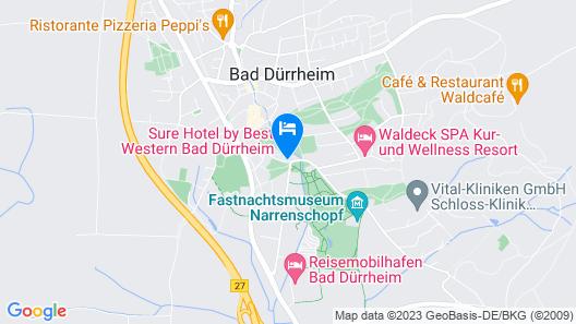 Sure Hotel by Best Western Bad Duerrheim Map