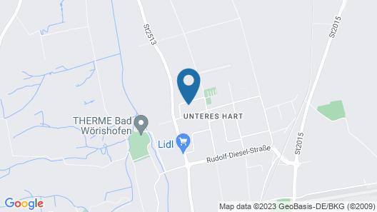 das MAX Appartementhaus Map