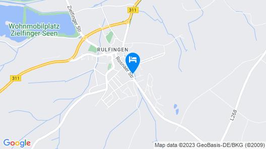 Apartment Land in Sicht in Mengen - 4 Persons, 1 Bedrooms Map