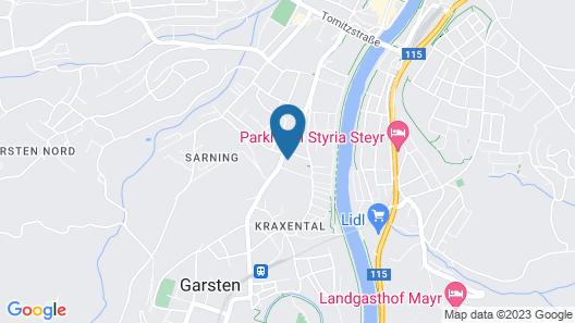 Hotel Vitus Steyr Map