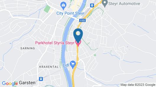 Parkhotel Styria Map