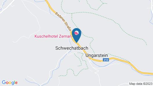 Kuschelhotel Zeman Map