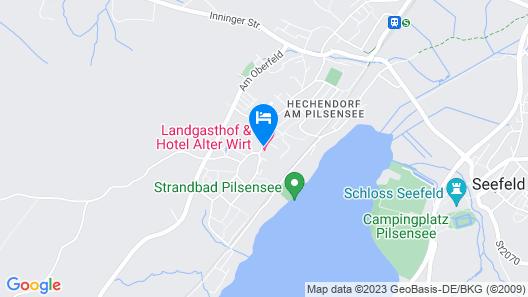 Landgasthof & Hotel Alter Wirt  Map