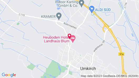 Heuboden Hotel HeuLoft Map