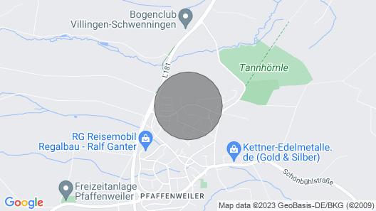 Apartment in the Black Forest - Villingen-Schwenningen (Pfaffenweiler) Map