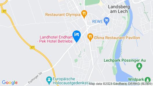 Landhotel Endhart Map