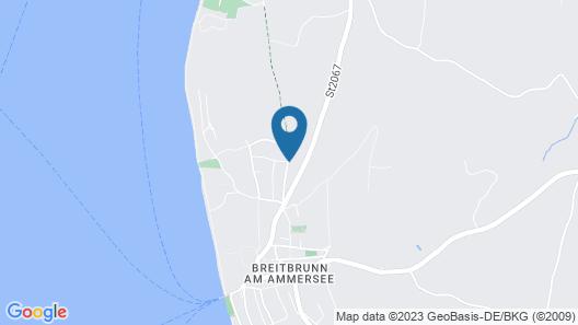 Entspannung pur - Gemütliche Ferienwohnung am Ammersee Map