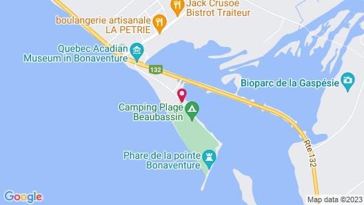 Les Chalets du Bioparc Map