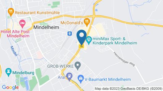 GS Hotel Geiger Map