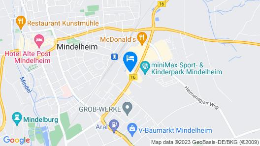 Hotel Lifestyle Mindelheim Map