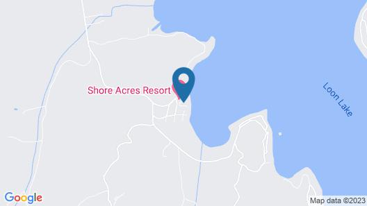 Shore Acres Resort Map