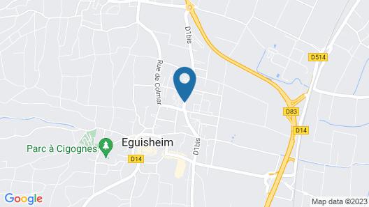 Pierre & Vacances Résidence Le Clos d'Eguisheim Map