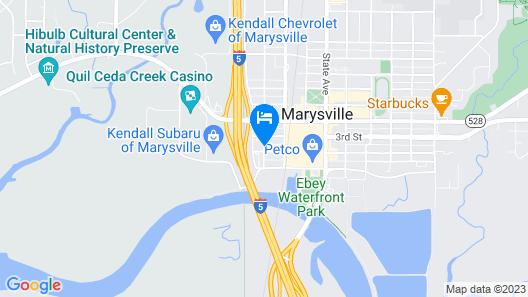 Village Inn & Suites Map
