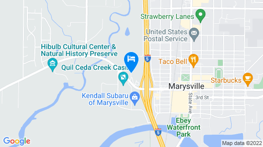 Quality Inn Tulalip - Marysville Map